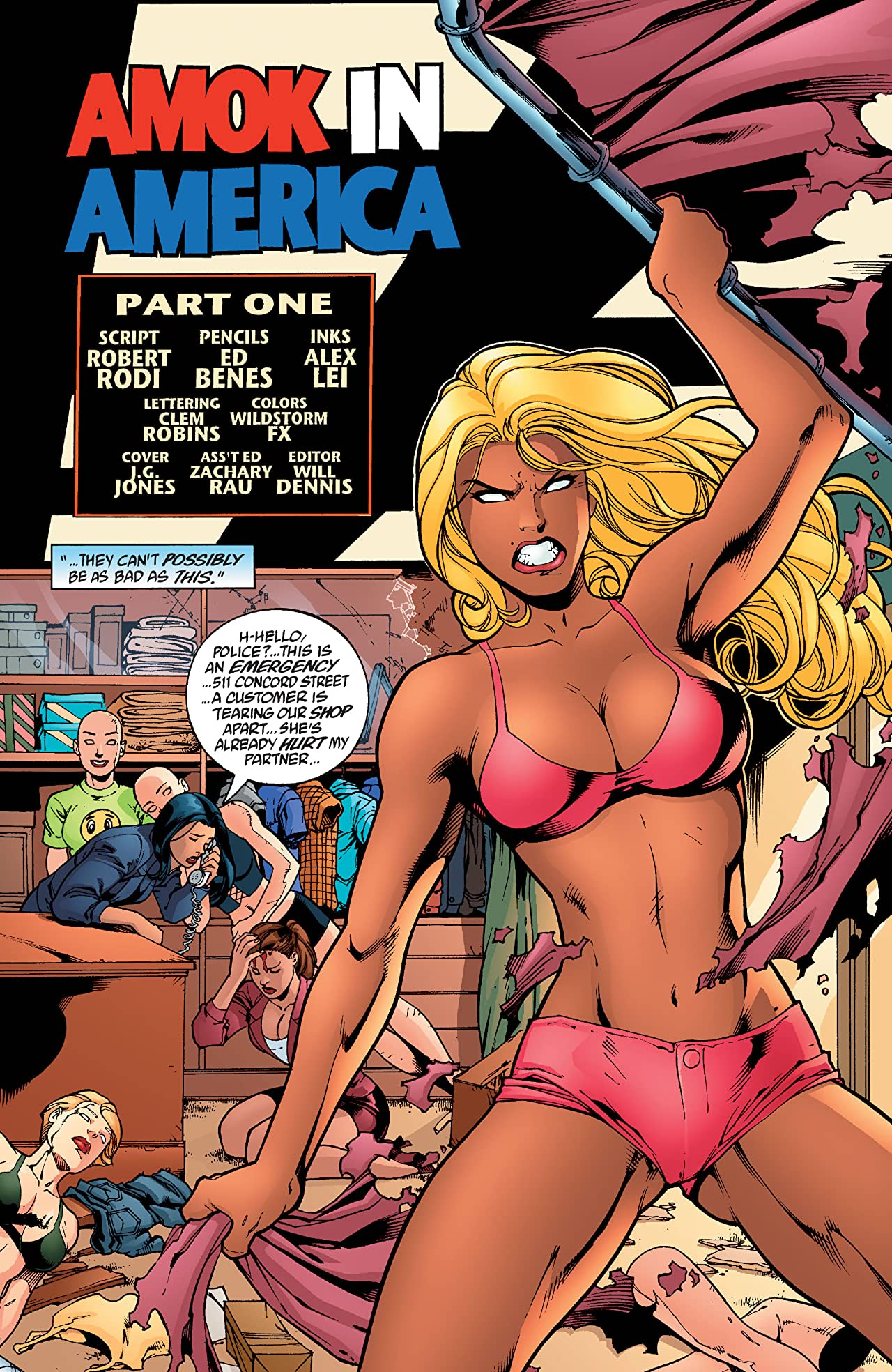 Codename: Knockout (2001-2003) #16