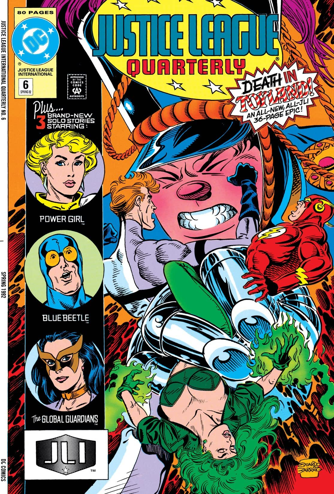 Justice League Quarterly (1990-1994) #6