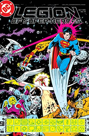 Legion of Super-Heroes (1984-1989) #12