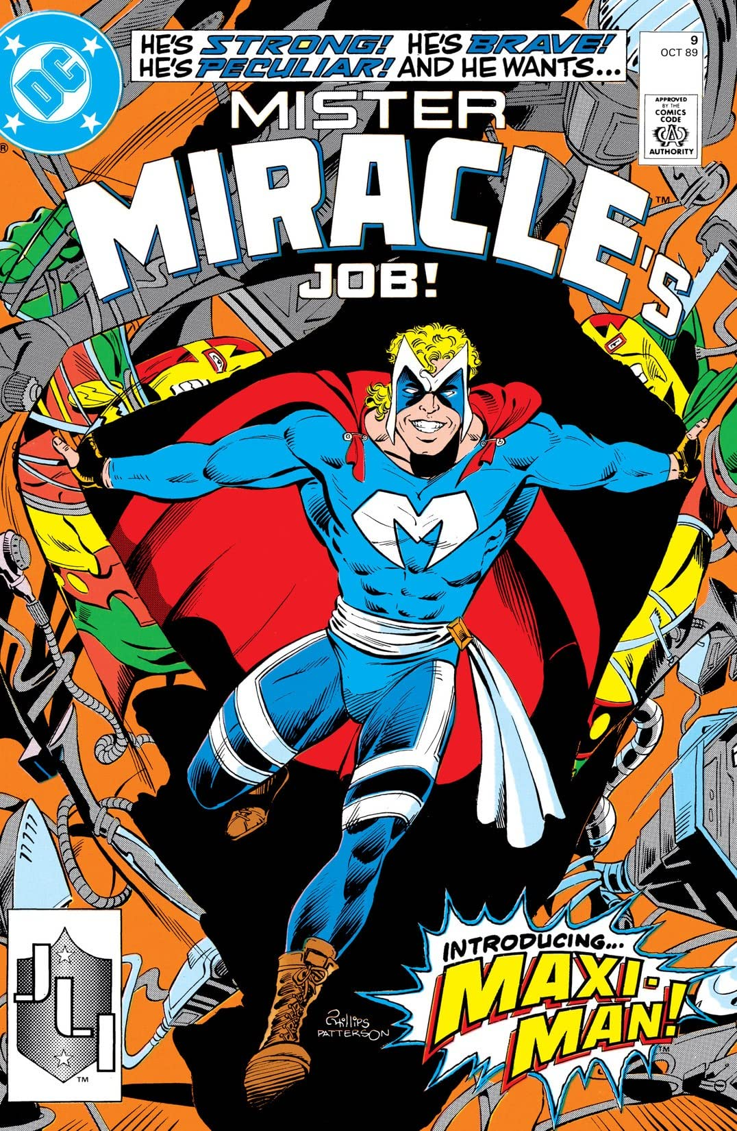 Mister Miracle (1989-1991) #9