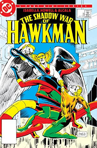 The Shadow War of Hawkman (1985) #3