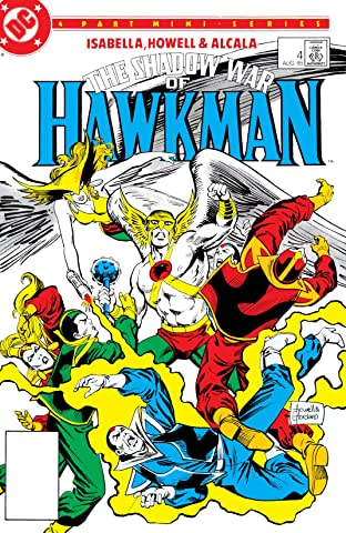 The Shadow War of Hawkman (1985) #4