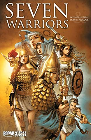7 Warriors #3 (of 3)