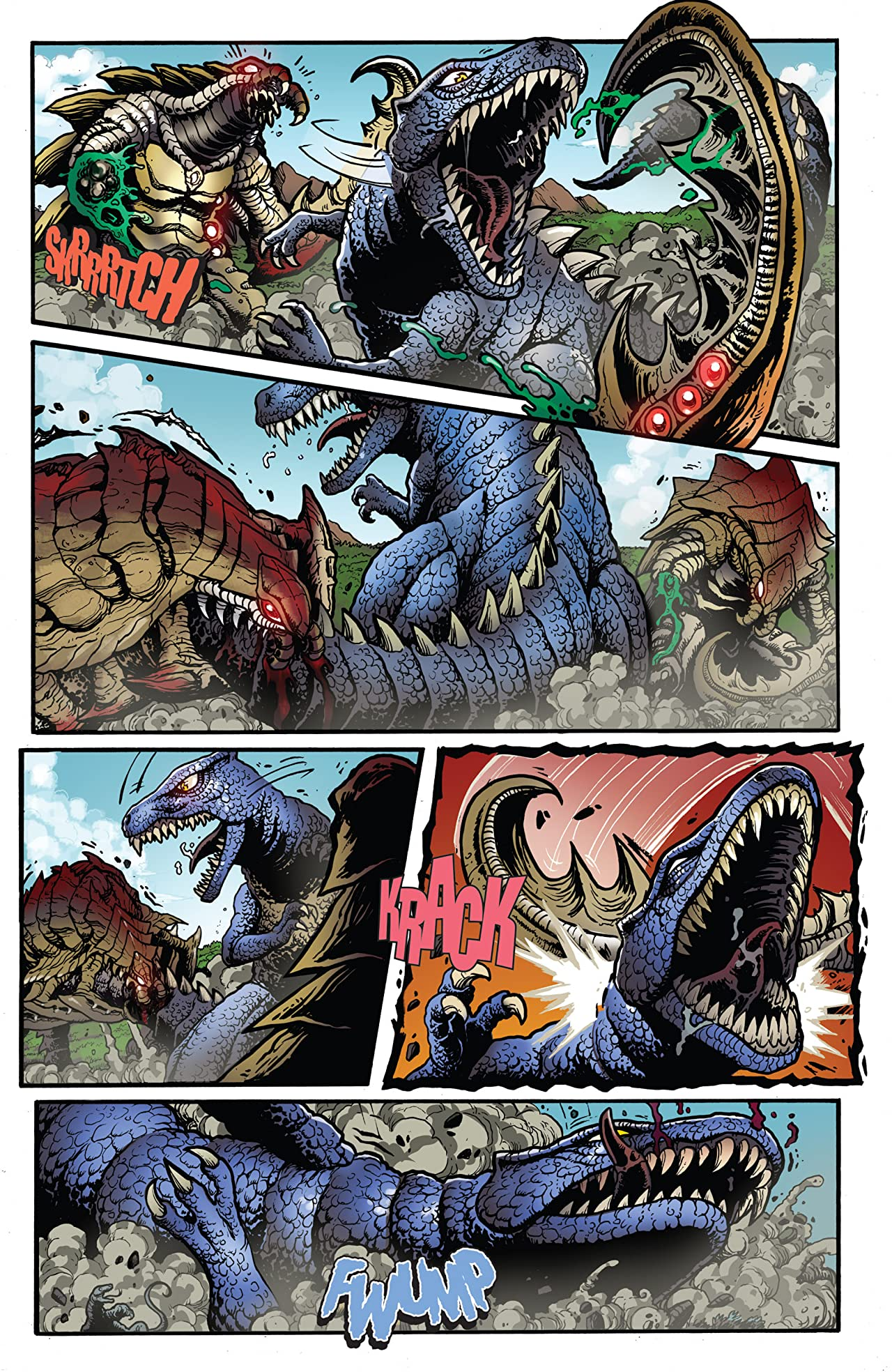 Godzilla: Rulers of Earth #22