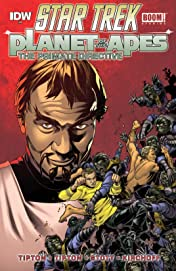 Star Trek / Planet of the Apes #4 (of 5)