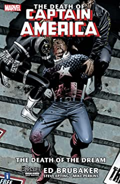 Captain America: The Death of Captain America Tome 1: Death of the Dream
