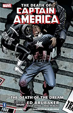 Captain America: The Death of Captain America Vol. 1: Death of the Dream