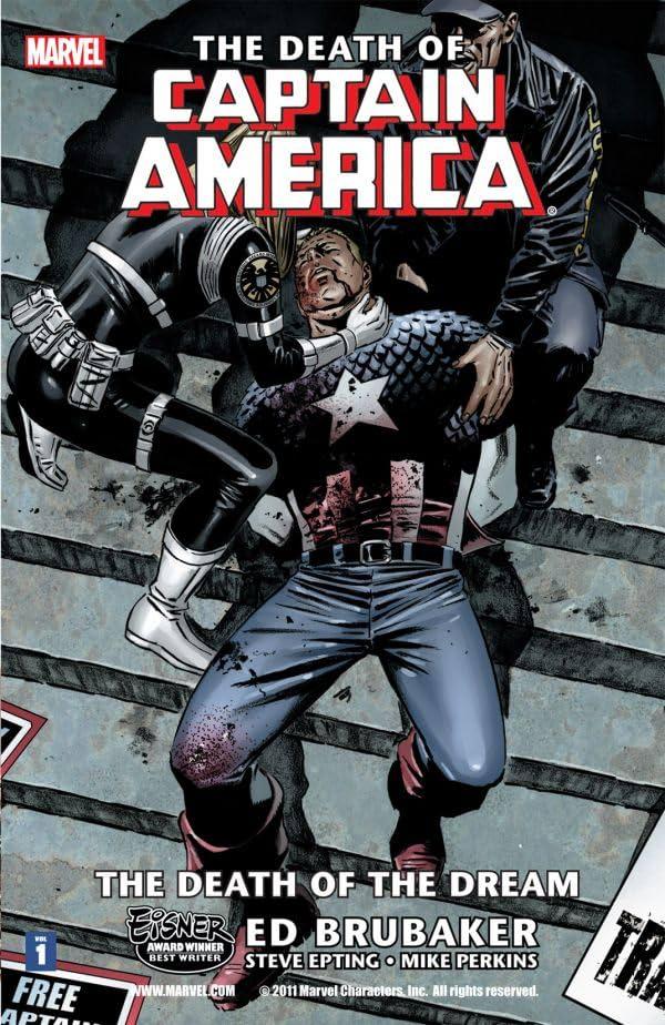 Captain America: The Death of Captain America Vol. 1: Death of the Dream