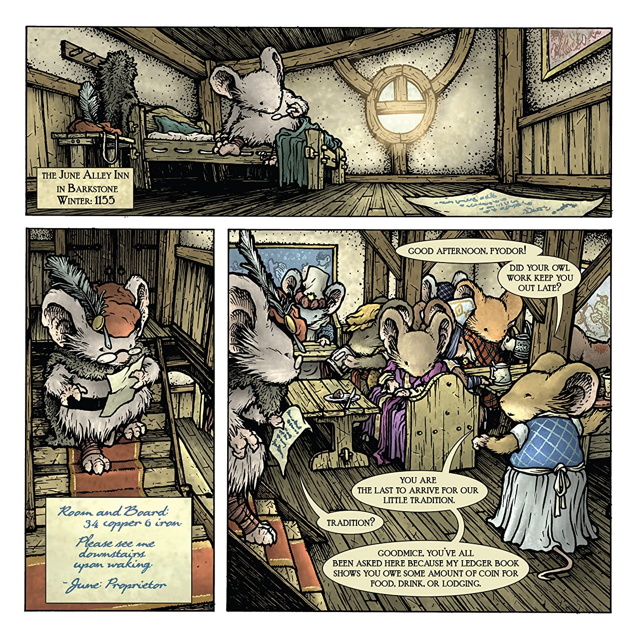 Mouse Guard: Legends of the Guard Vol. 3 #1