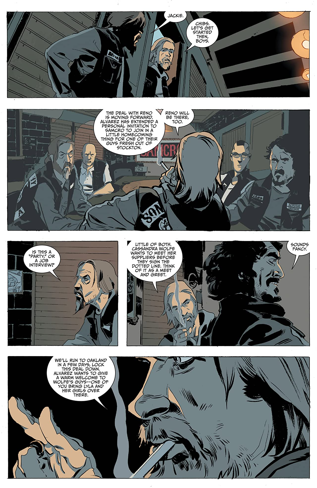 Sons of anarchy 19 comics by comixology sons of anarchy 19 kristyandbryce Choice Image