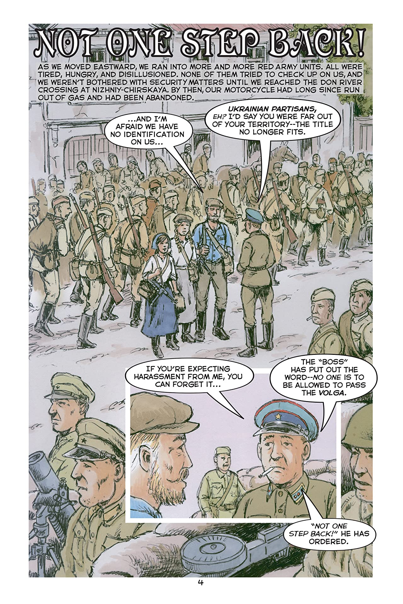Katusha, Girl Soldier of the Great Patriot War: Book Two: The Shaking of the Earth