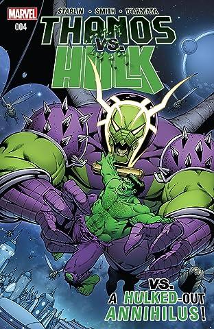 Thanos vs. Hulk #4 (of 4)