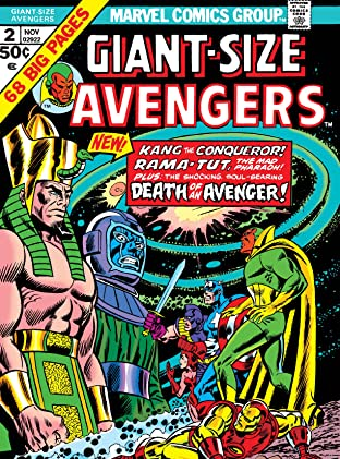 Giant-Size Avengers (1974) No.2