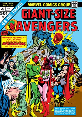 Giant-Size Avengers (1974) No.4