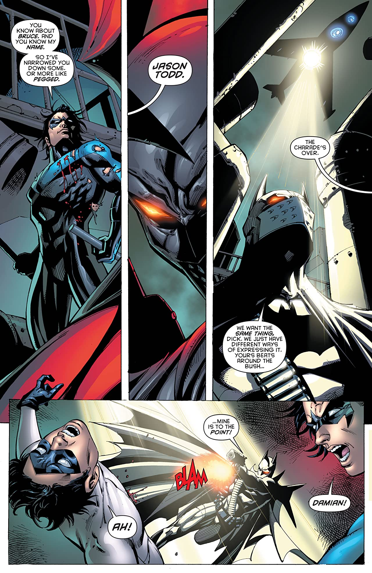 Batman: Battle For the Cowl #2 (of 3)
