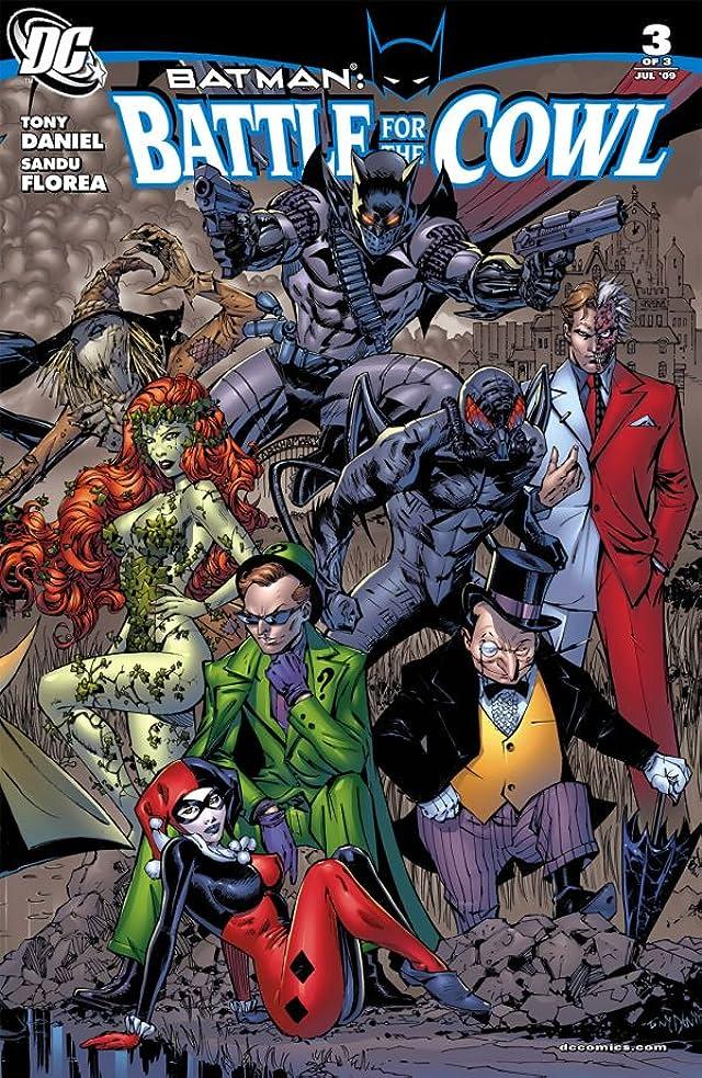 Batman: Battle For the Cowl #3