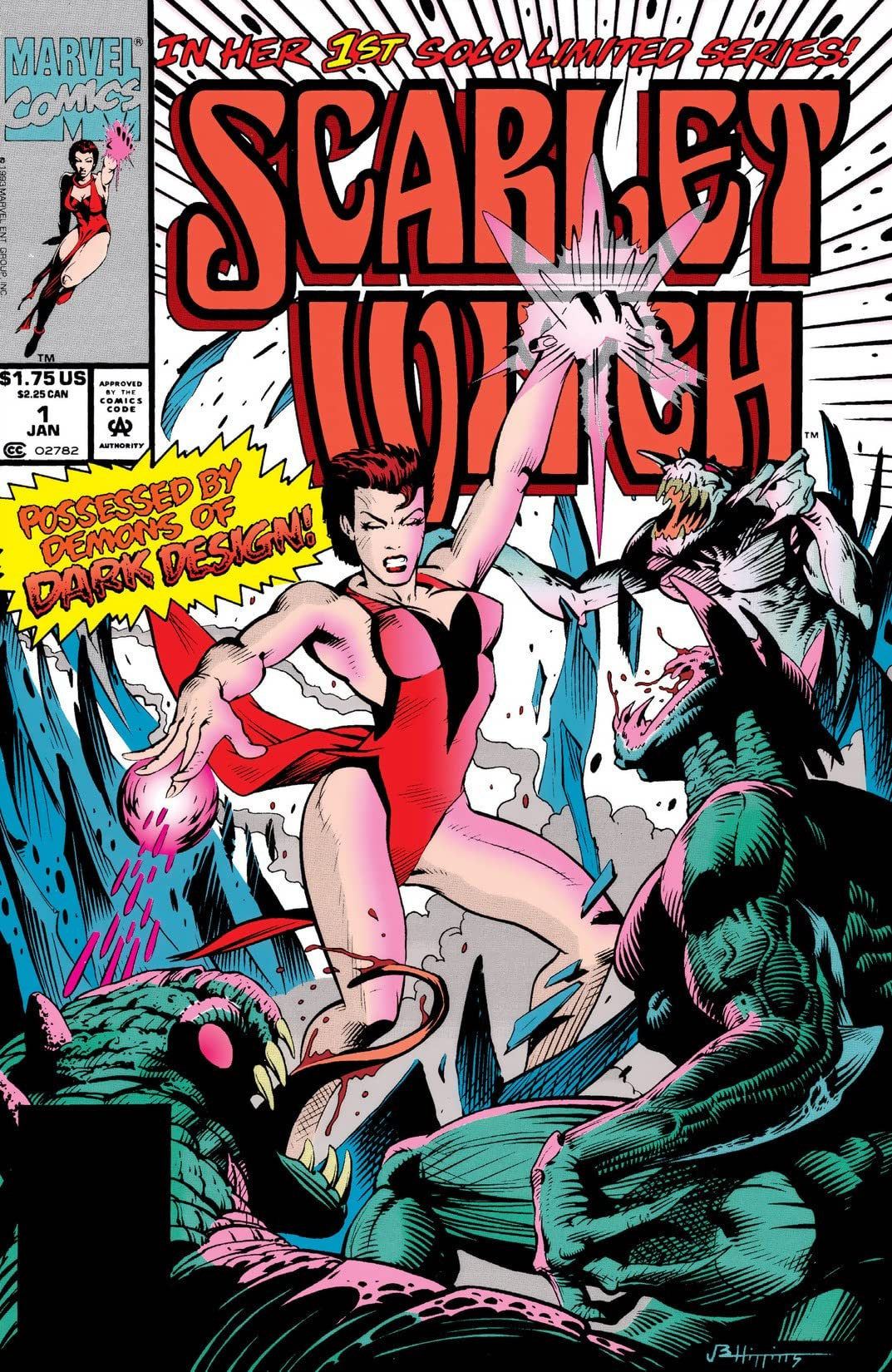 Scarlet Witch (1994) #1 (of 4)