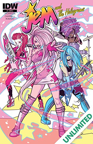 Jem and the Holograms (2015-2017) #1