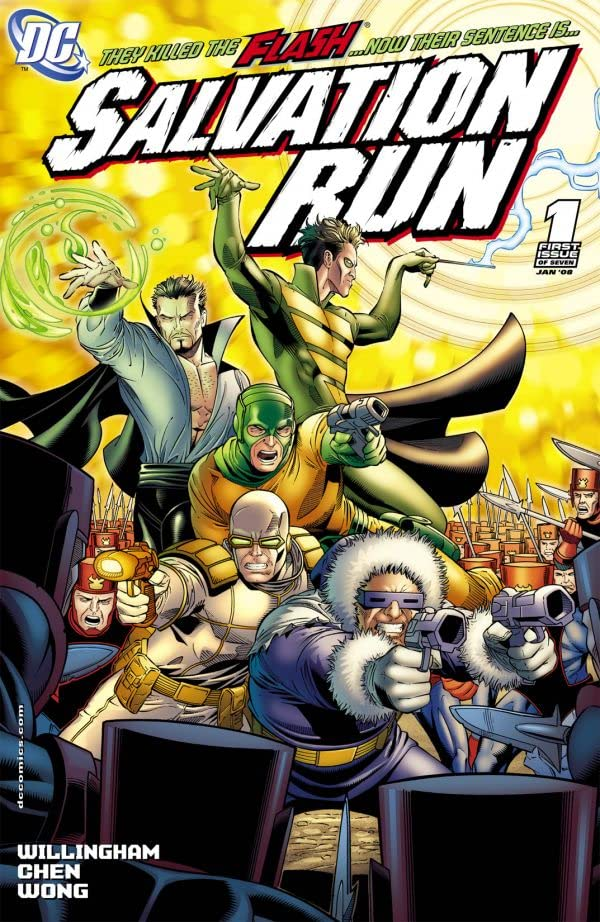 Salvation Run #1 (of 7)
