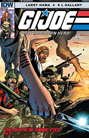 G.I. Joe: A Real American Hero No.212: The Death of Snake Eyes: Part 1