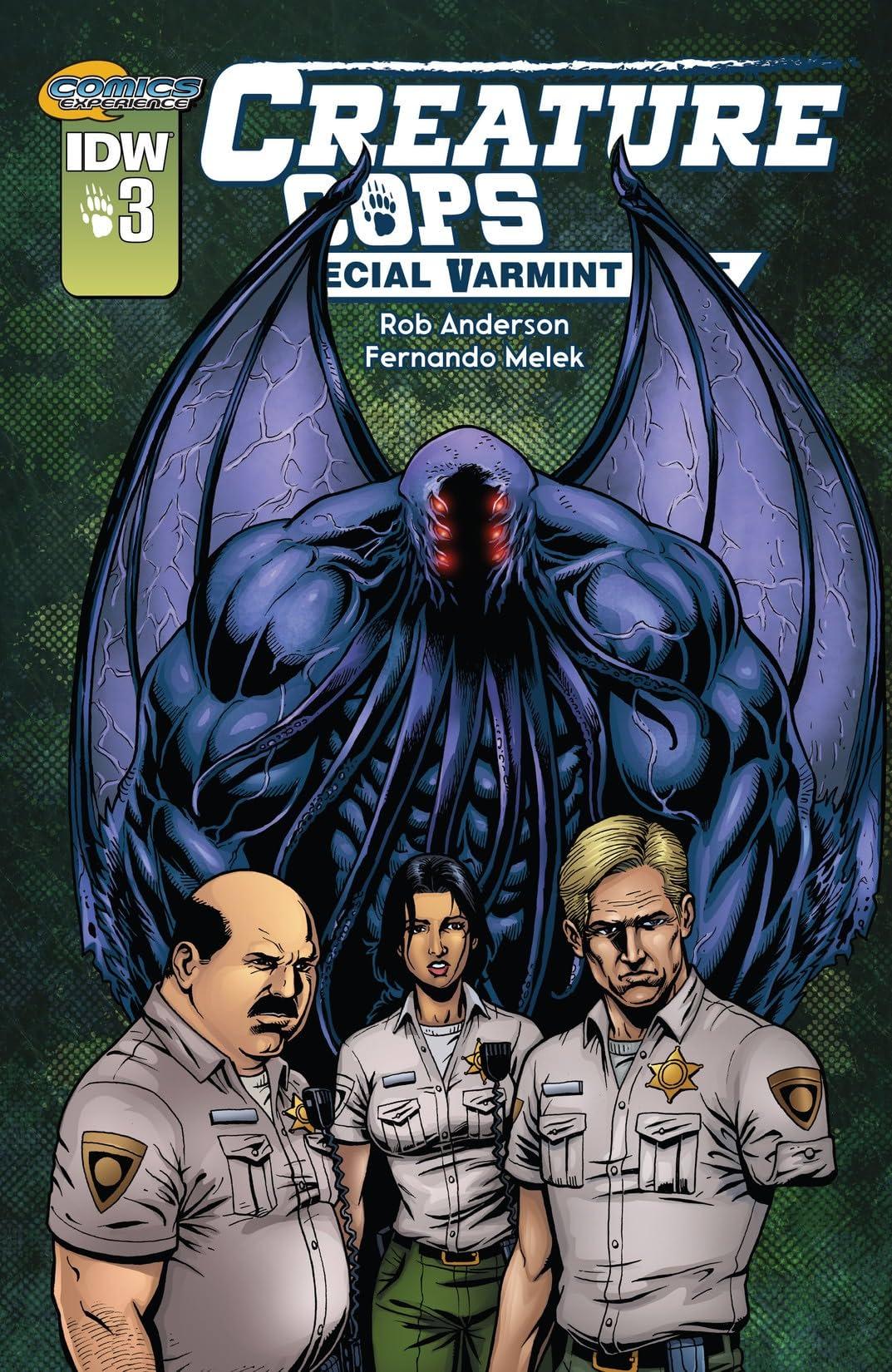 Creature Cops: Special Varmint Unit #3 (of 3)