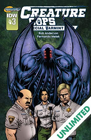 Creature Cops: Special Varmint Unit #3 (of 3)