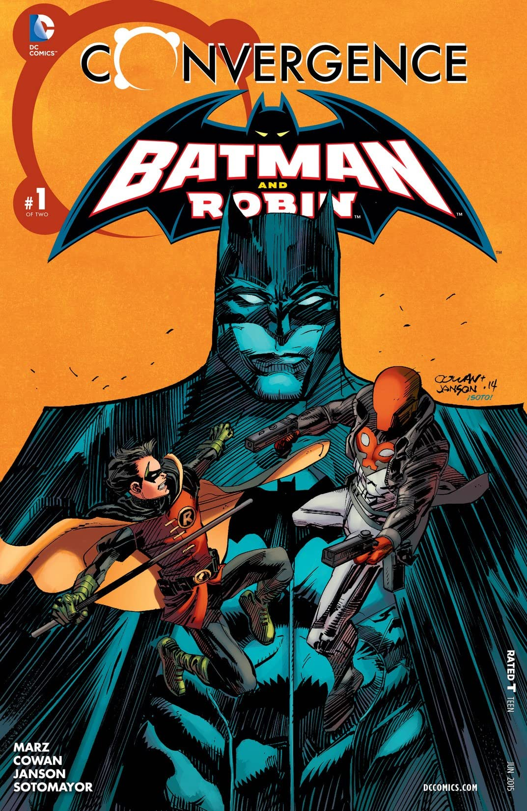 Convergence: Batman and Robin (2015) No.1