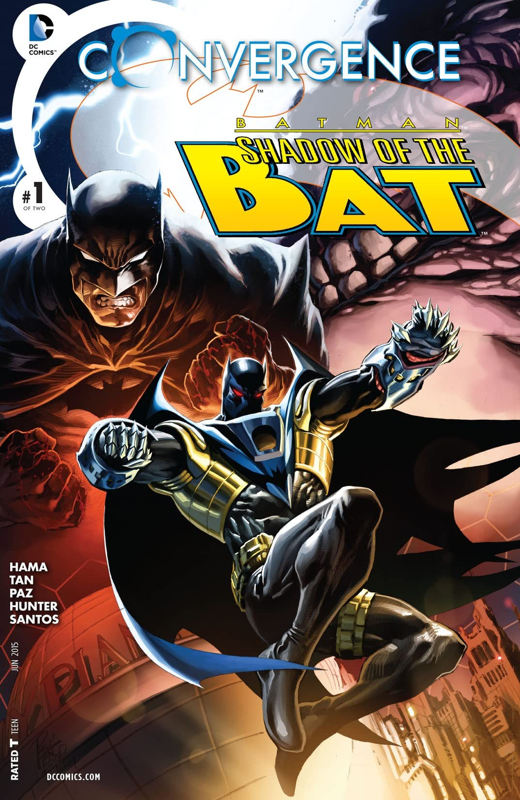 Convergence: Batman: Shadow of the Bat (2015) #1