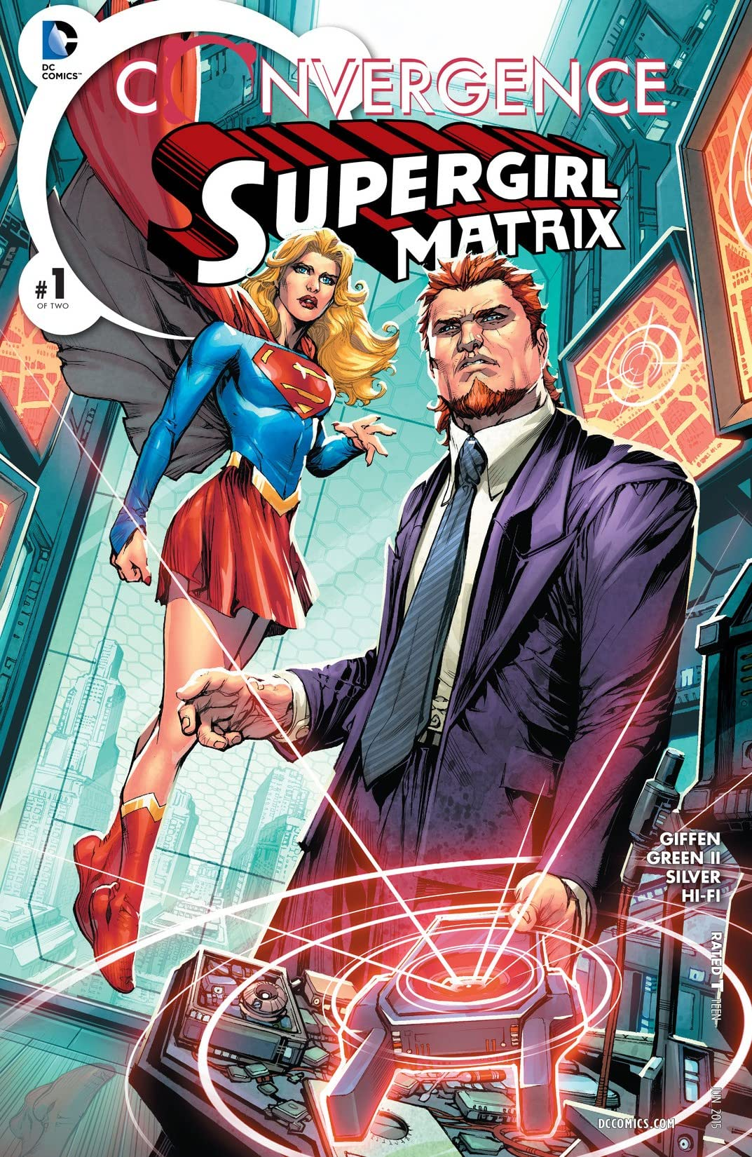 Convergence: Supergirl: Matrix (2015) No.1
