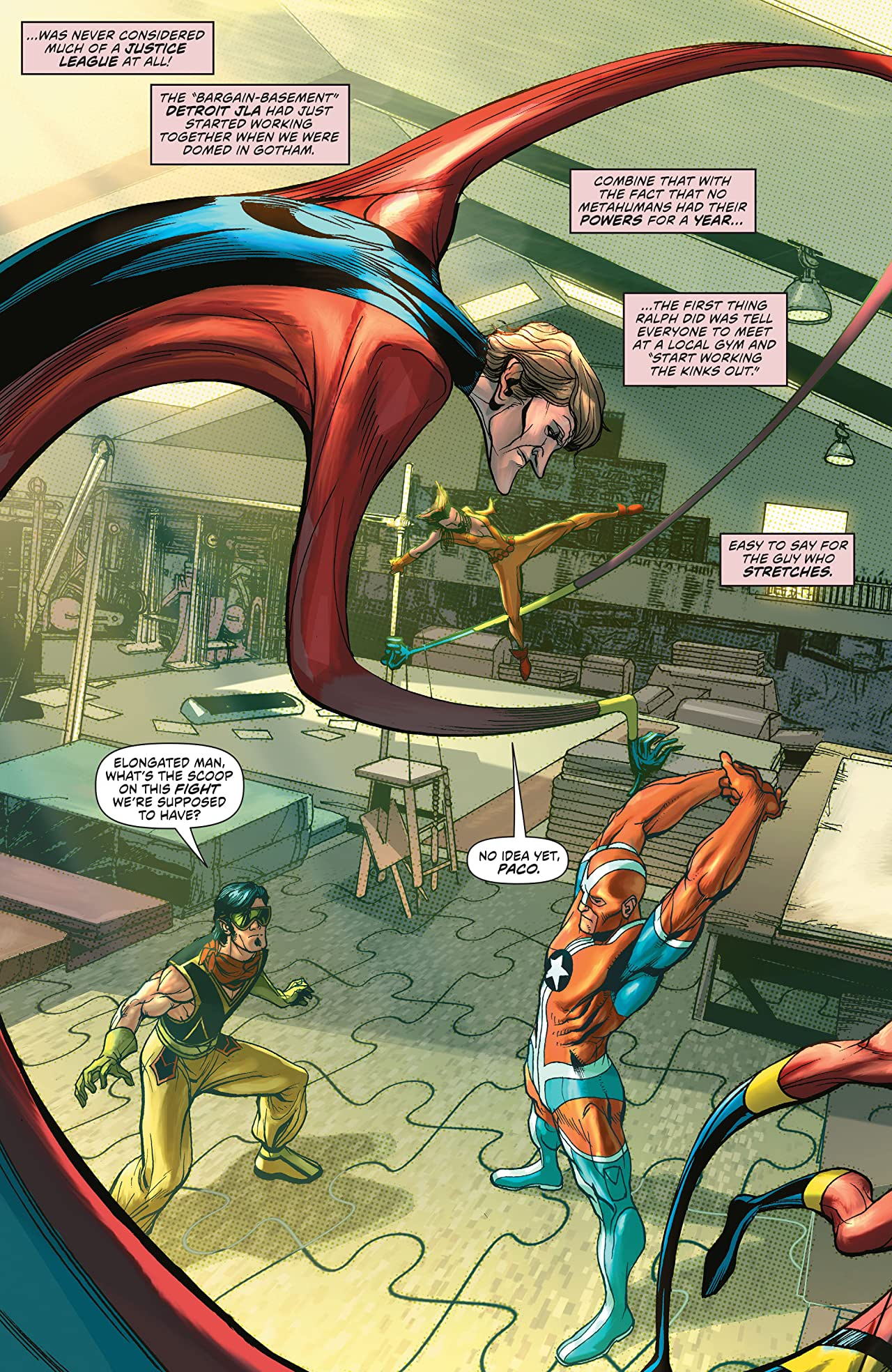 Convergence: Justice League of America (2015) #1