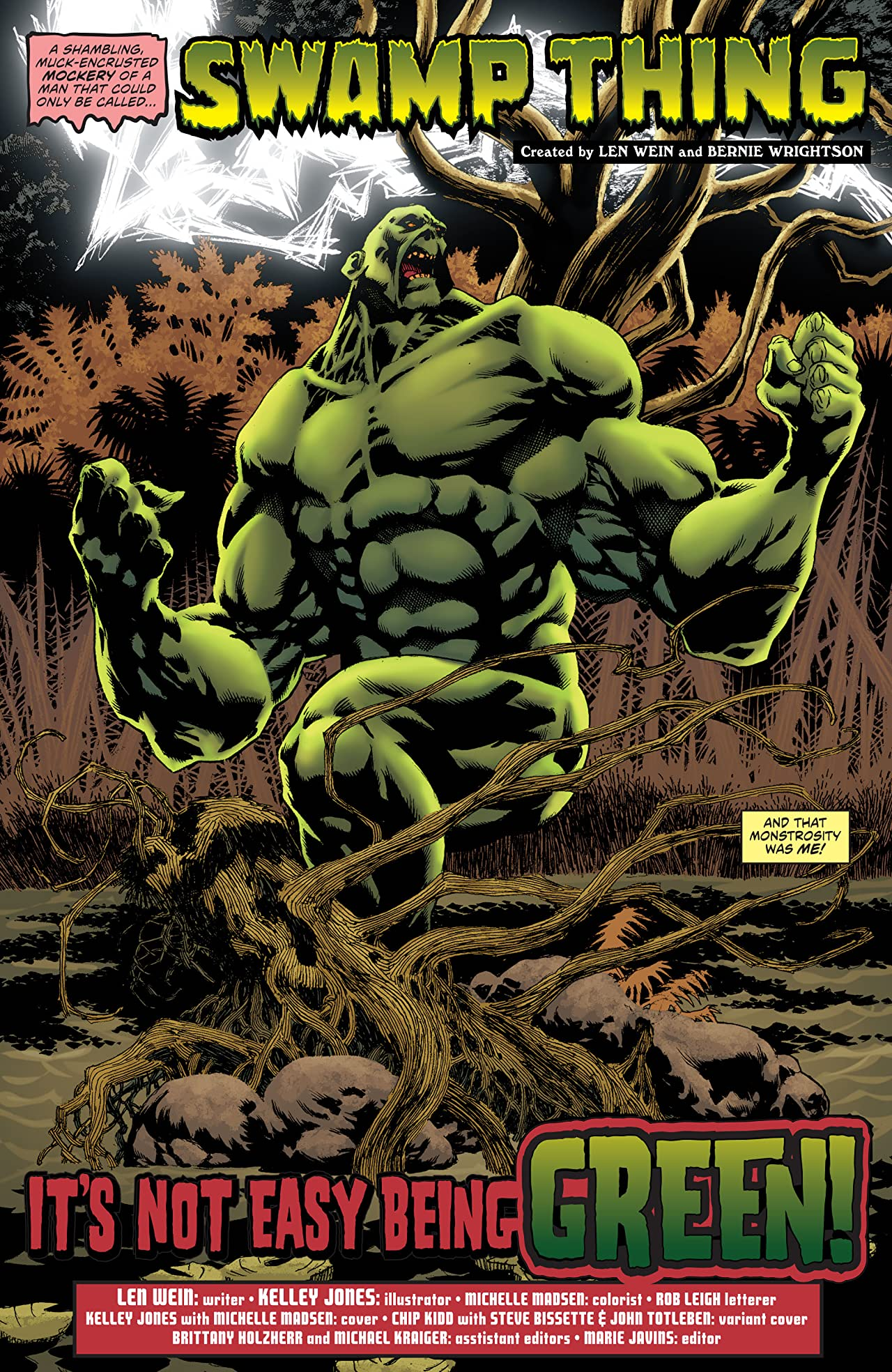 Convergence: Swamp Thing (2015) #1