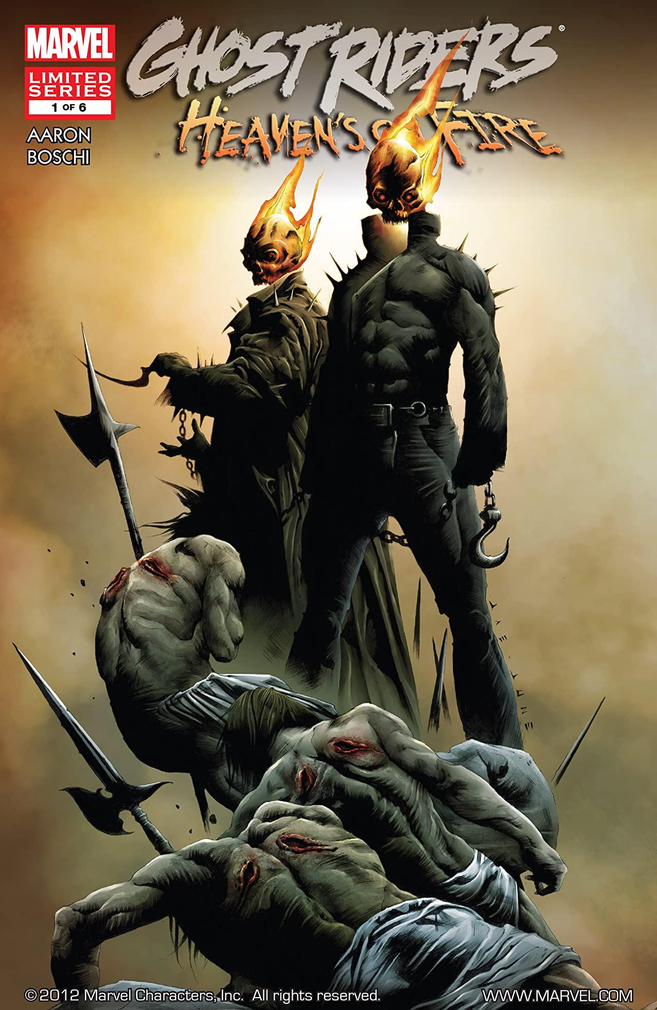 Ghost Riders: Heaven's on Fire (2009) #1 (of 6)