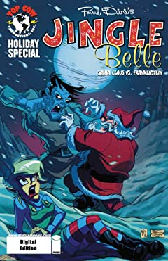 Jingle Belle: Santa Claus vs. Frankenstein