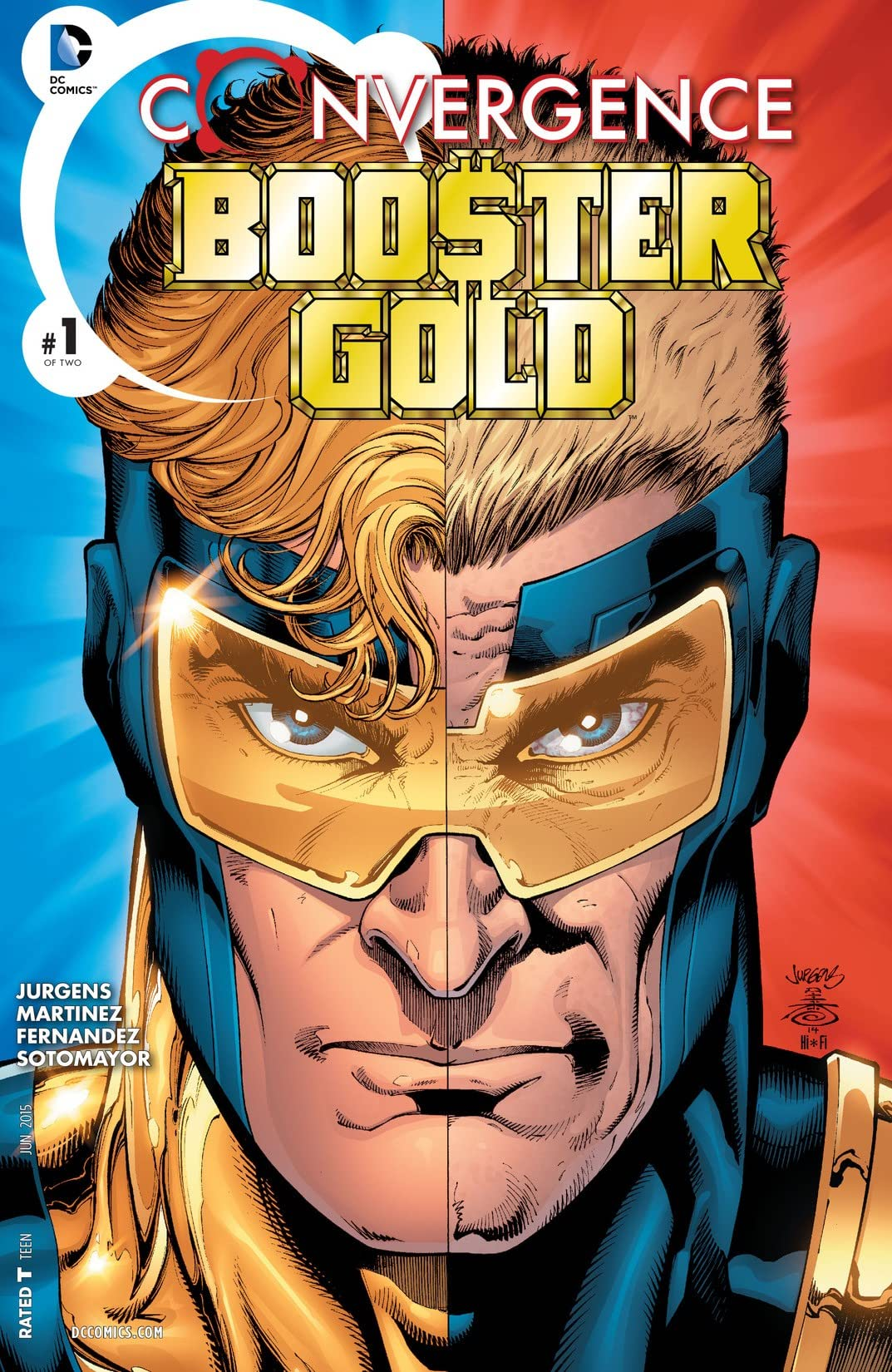 Convergence: Booster Gold (2015) #1