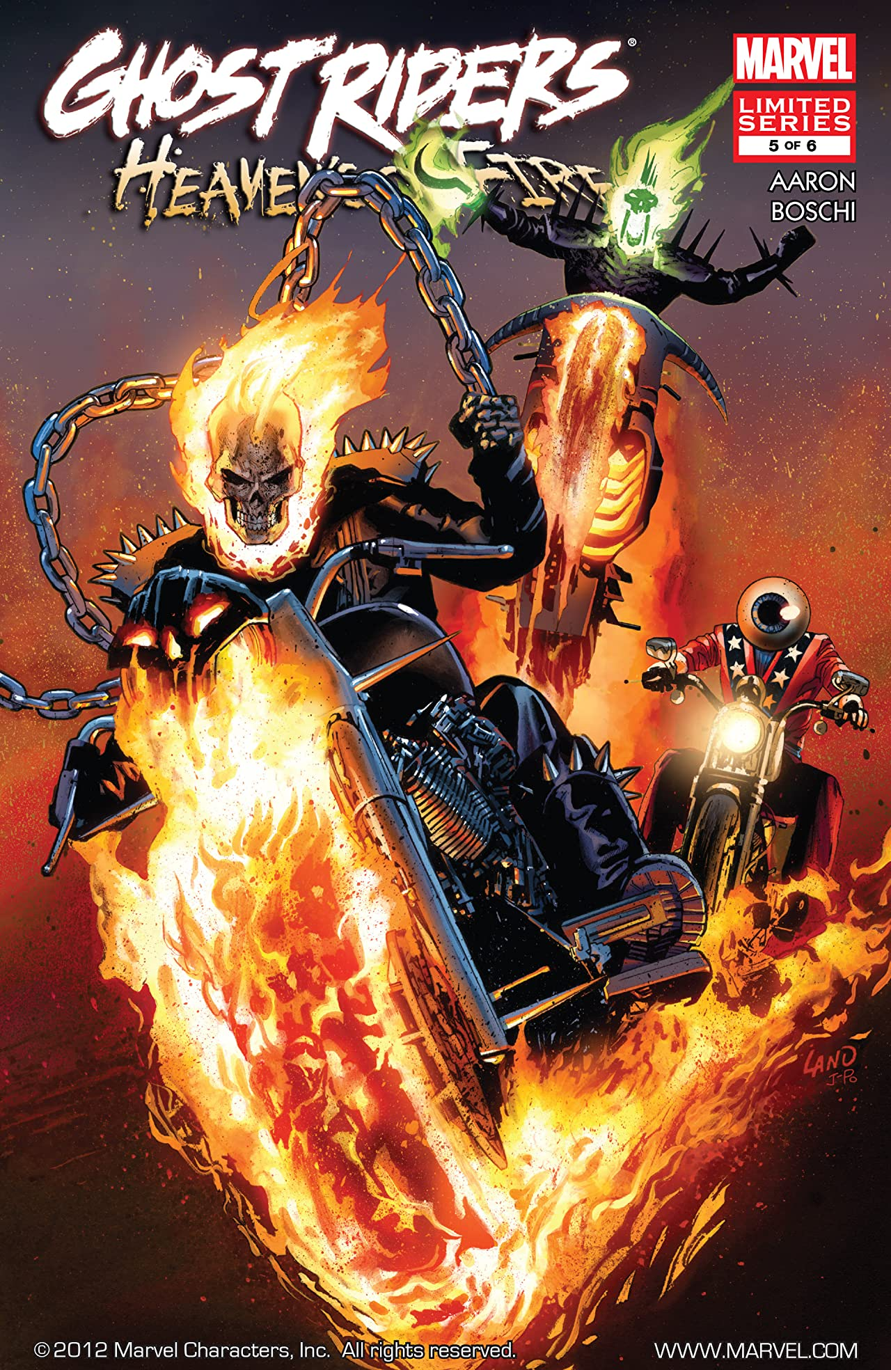 Ghost Riders: Heaven's on Fire (2009) #5 (of 6)
