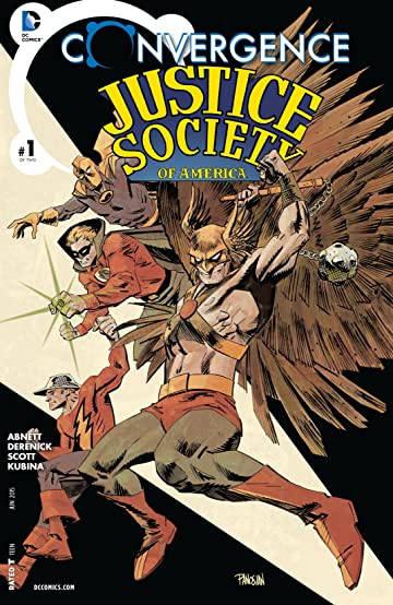 Convergence: Justice Society of America (2015) #1