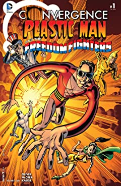 Convergence: Plastic Man and the Freedom Fighters (2015) #1