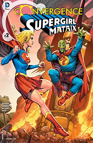 Convergence: Supergirl: Matrix (2015) #2