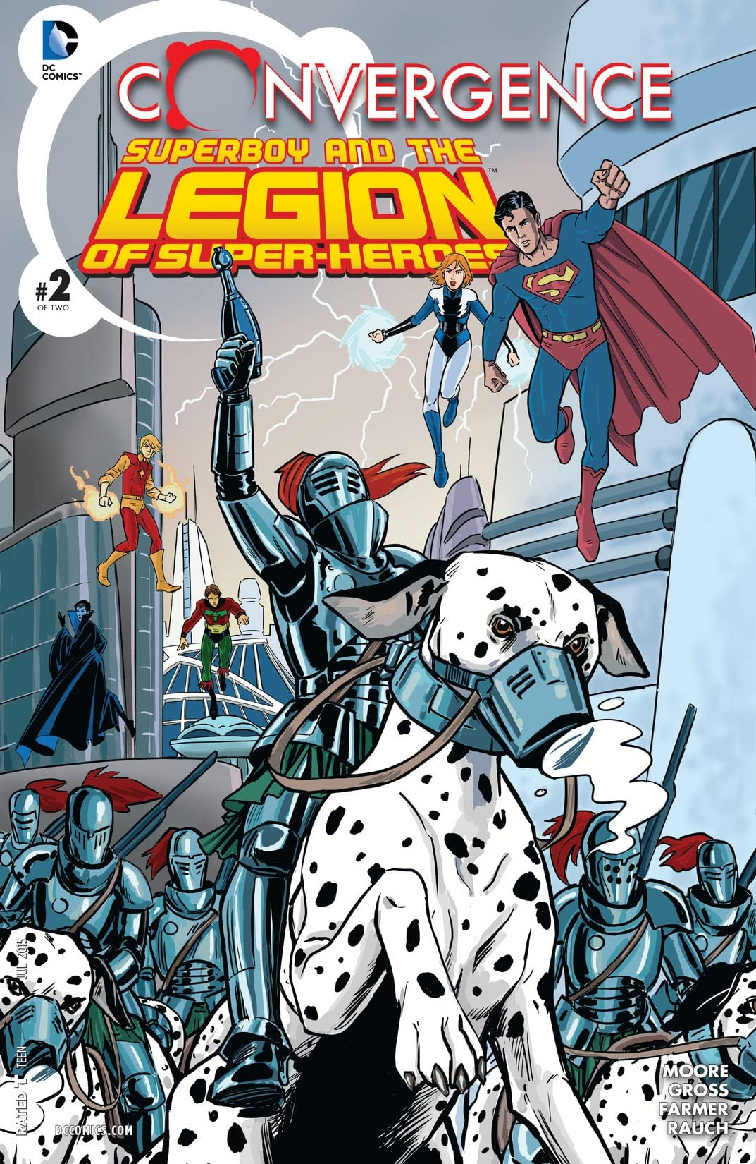 Convergence: Superboy and the Legion of Super-Heroes (2015) #2