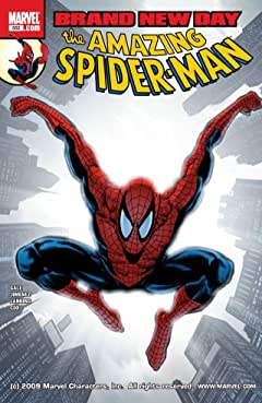 Amazing Spider-Man (1999-2013) #552