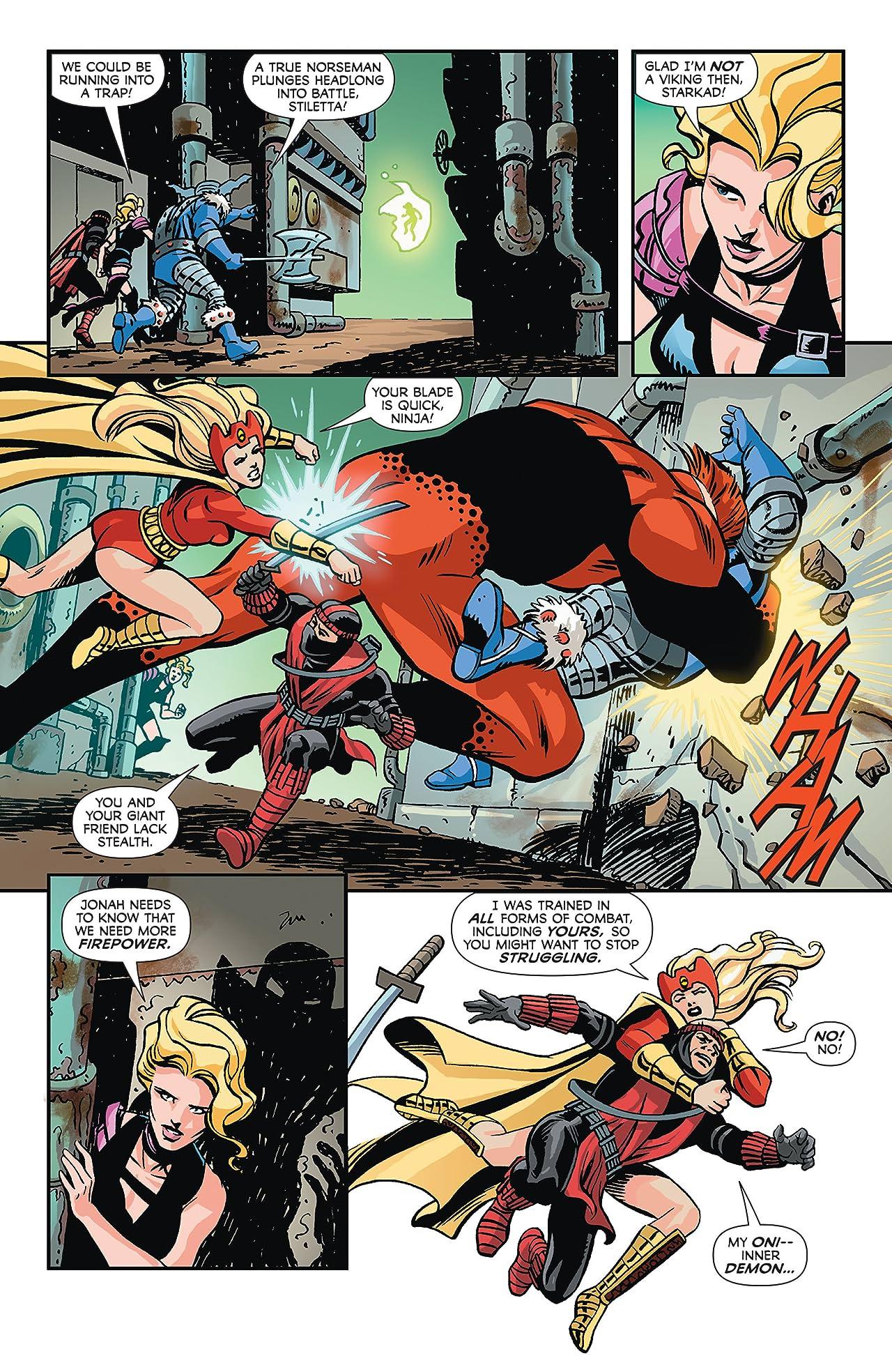 Convergence: Infinity Inc. (2015) #2