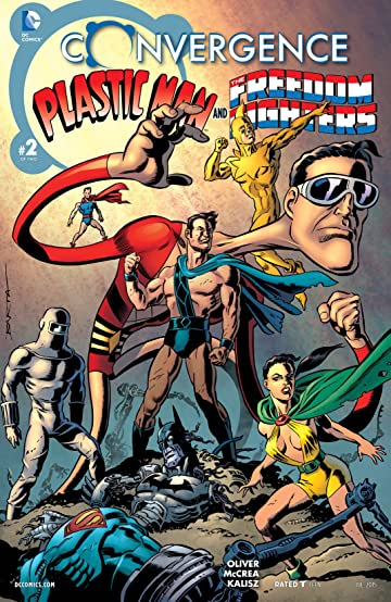 Convergence: Plastic Man and the Freedom Fighters (2015) #2