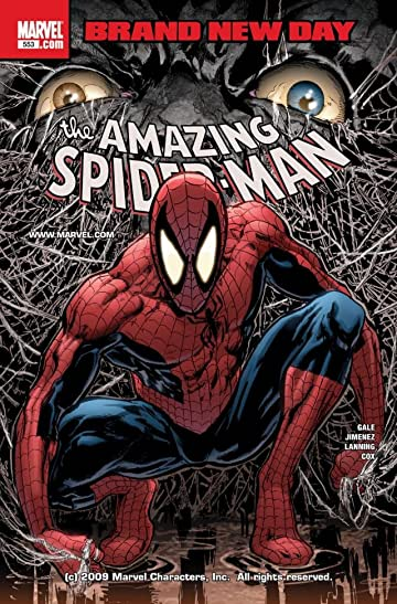 Amazing Spider-Man (1999-2013) #553