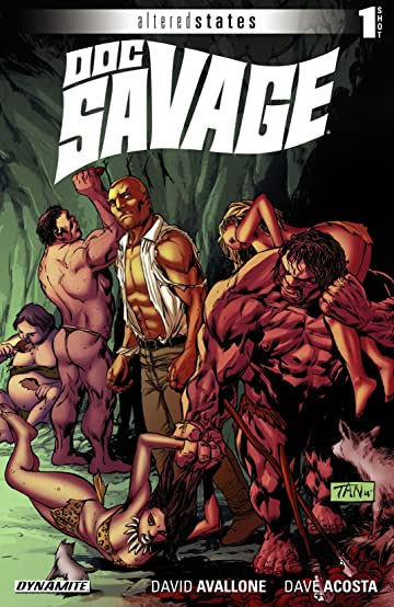 Altered States: Doc Savage #1: Digital Exclusive Edition