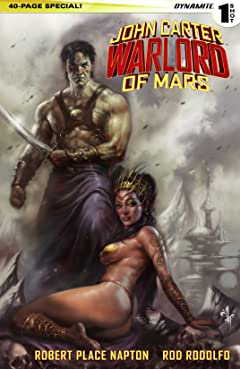 John Carter Warlord of Mars 2015 Special: Digital Exclusive Edition