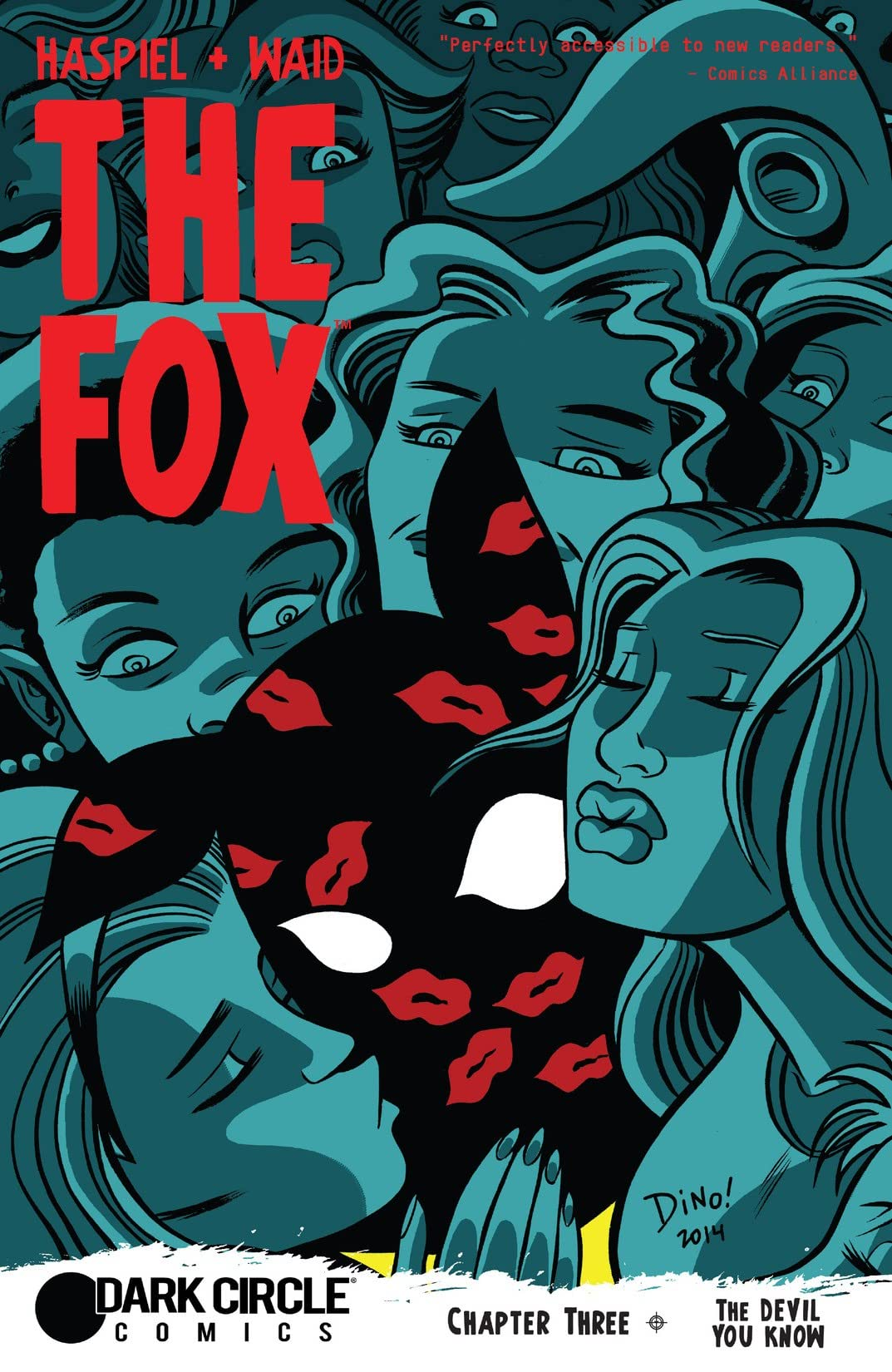The Fox (Dark Circle Comics) #3