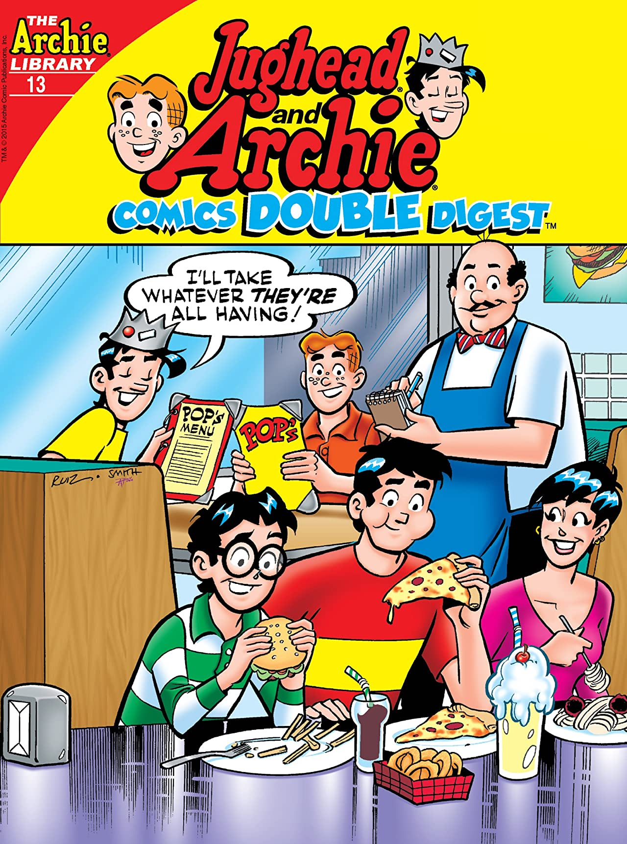 Jughead and Archie Comics Double Digest #13