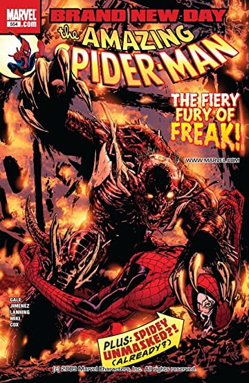 Amazing Spider-Man (1999-2013) #554