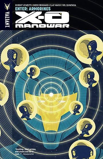 X-O Manowar Vol. 8: Enter Armorines