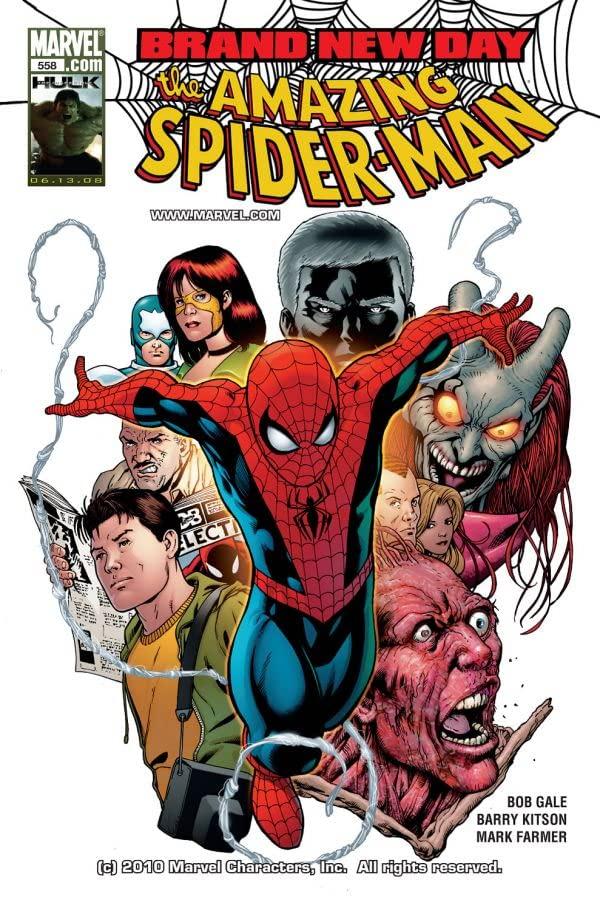 Amazing Spider-Man (1999-2013) #558